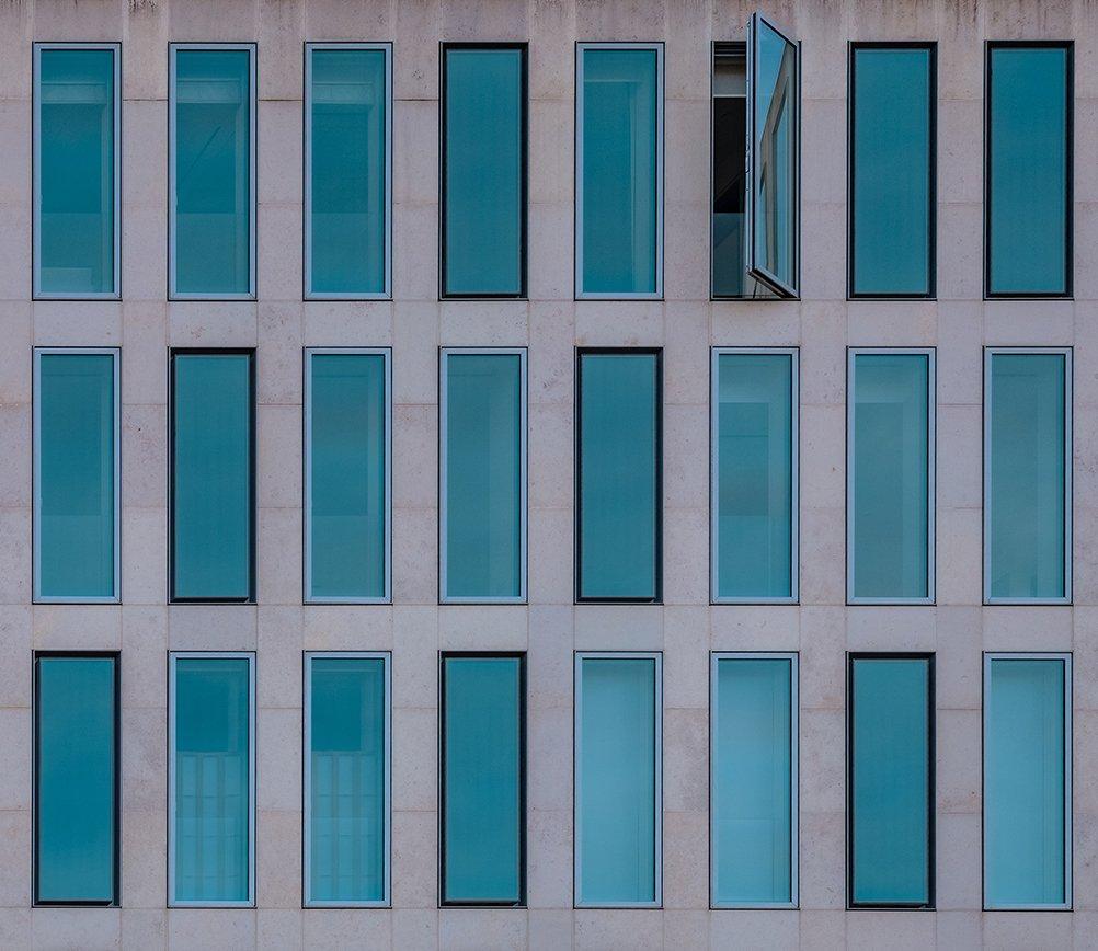 open window for ventilation